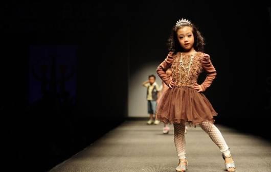 foto de modelo infantil