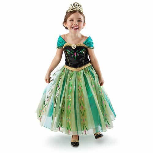 linda fantasia frozen para menininhas