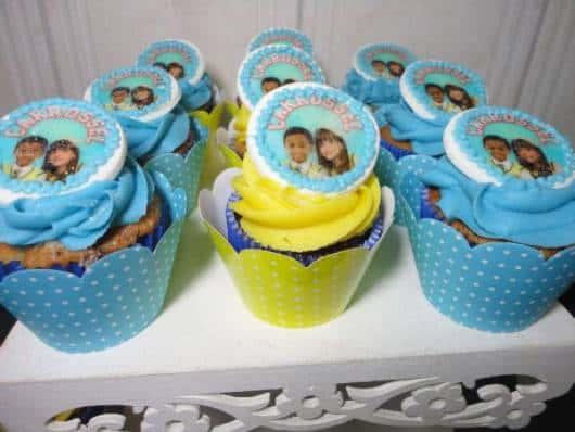 lembrancinha carrossel cupcake