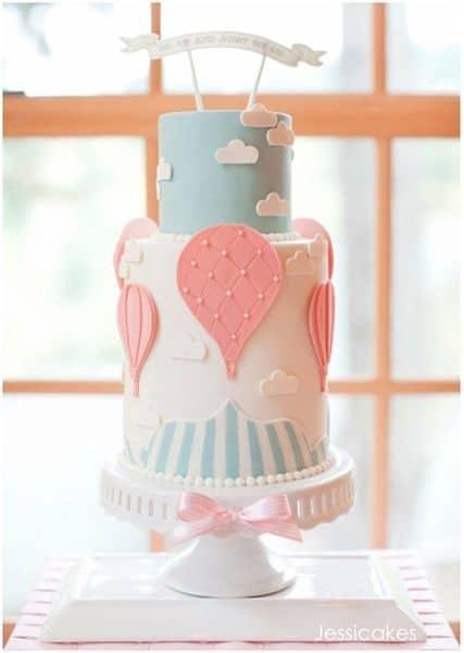 bolo de balão