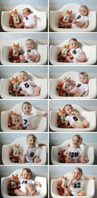 ideias para fotos bebê