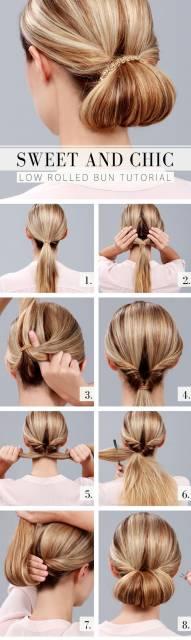 tutorial penteado fácil