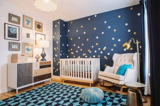 cor de parede quarto bebê menino