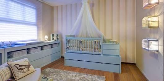 papel de parede quarto de bebê