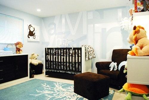 decoração infantil com pelúcias
