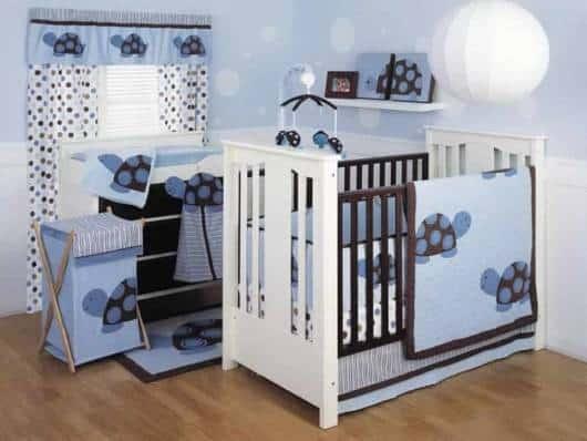 tema decoração quarto bebê menino