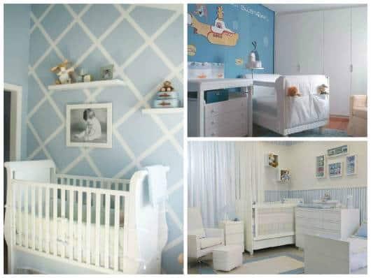 ideias para pintar parede quarto bebê