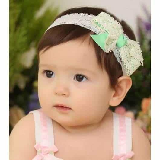 tiara vintage bebê