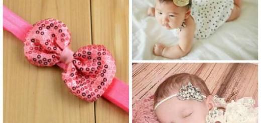 faixas bordadas bebê