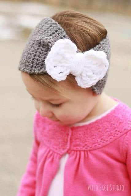 tiara turbante infantil