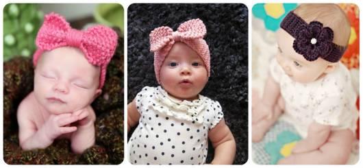 modelos faixa cabeça de crochê