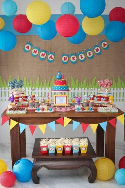 decoração aniversário bebê