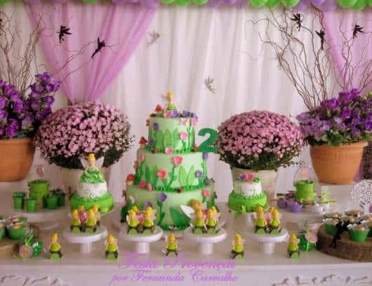 decoração sininho aniversário