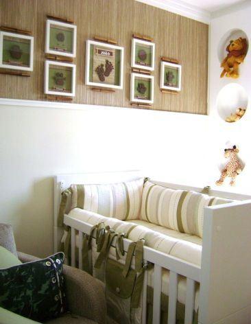 quarto safári bebê