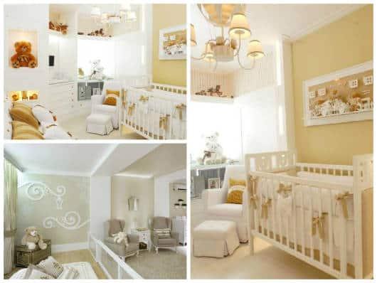 decoração com ursos quarto de bebê
