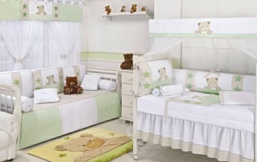 decoração ursos quarto de bebê