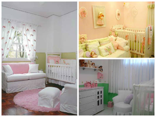 como combinar rosa e verde na decoração