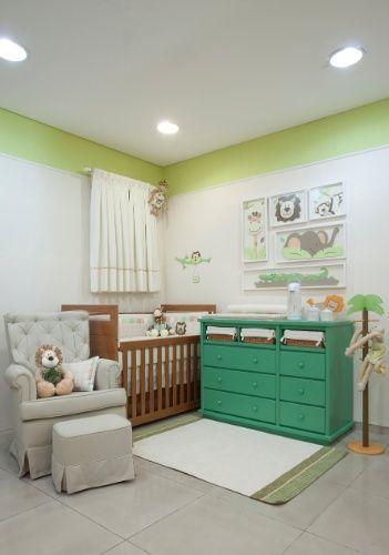decoração safari quarto infantil