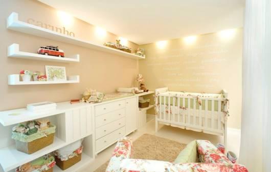 quarto moderno de bebê