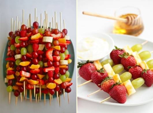 Que frutas servir em festa infantil