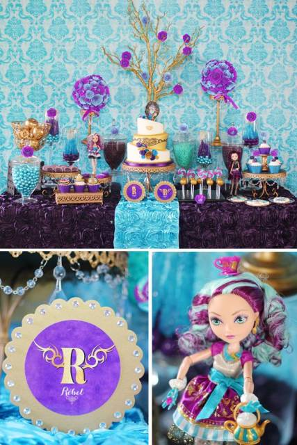 Cake Decorating Store Mesa : FESTA EVER AFTER HIGH: como fazer e decorar!