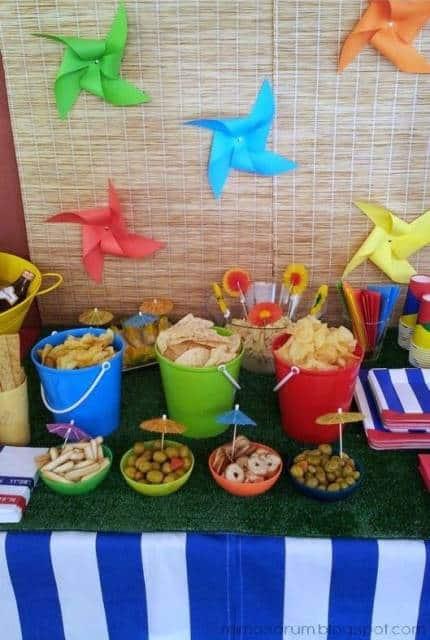 Festa infantil na piscina como organizar e decorar for Ideas para decorar piscinas