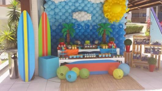 festa surf infantil