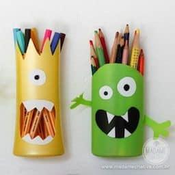 lembrancinha porta lápis