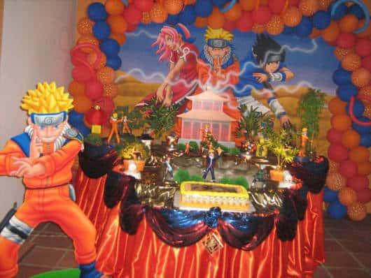 cores para festa infantil