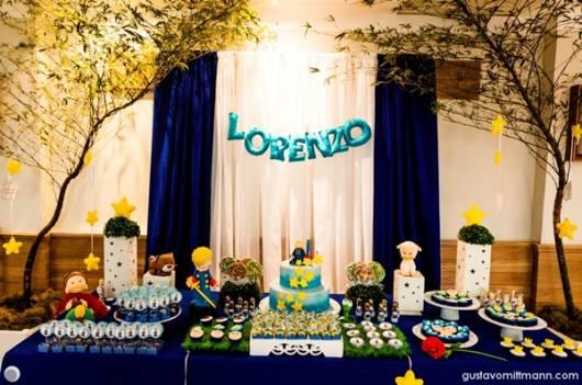 festa de aniversario menino tema realeza