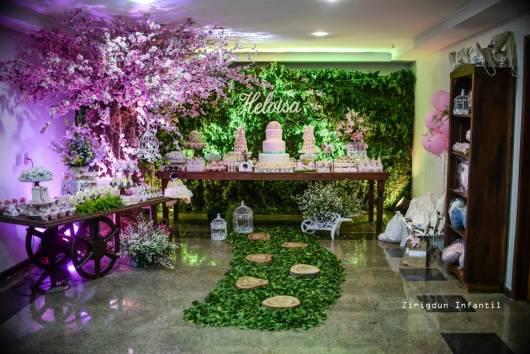 festa verde e rosa