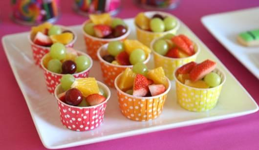 Dicas de pratos para festa infantil saudavel