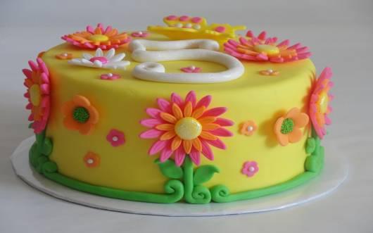 bolo festa primavera como fazer
