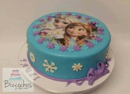 bolo azul e roxo