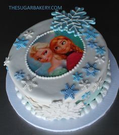 decoração centro bolo
