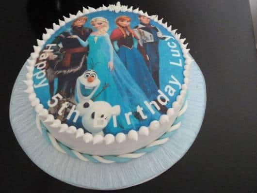 Frozen Edible Cake Toppers Melbourne