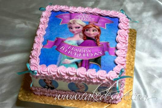 bolo rosa e azul chantilly