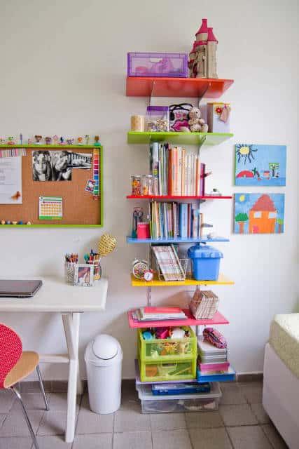 prateleiras para livros infantis