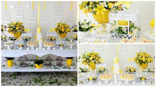 festa amarela