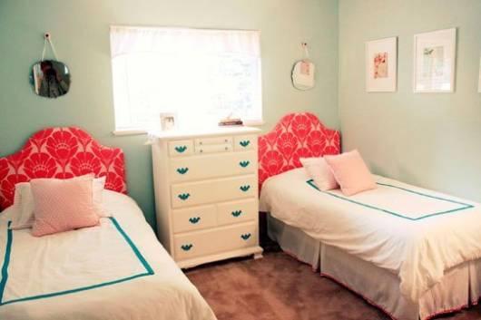 quarto para meninas simples