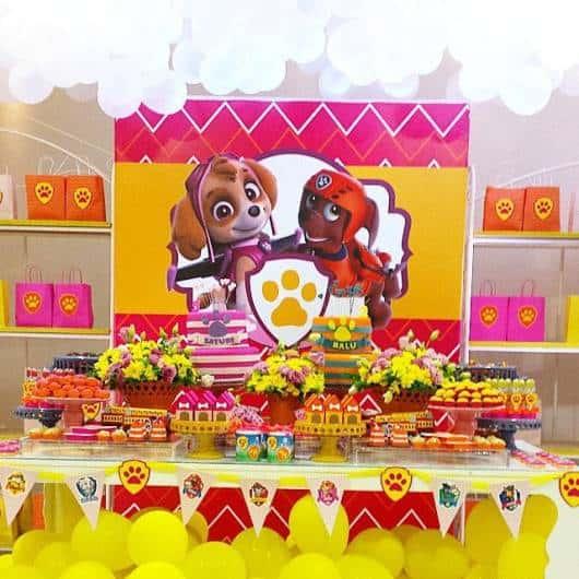 decoração festa menina