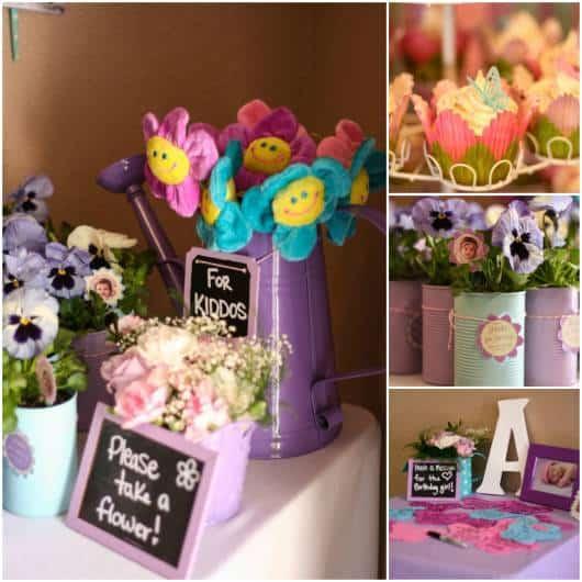 ideias para festa primavera de aniversario
