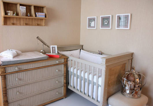 Resultado de imagem para quarto de bebe neutro principe