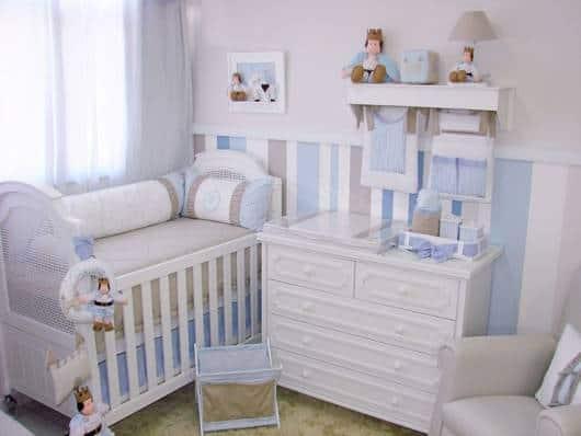 QUARTO DE BEBÊ PRÍNCIPE Fotos de decorações lindas! ~ Quarto Pequeno Para Bebe E Irmao