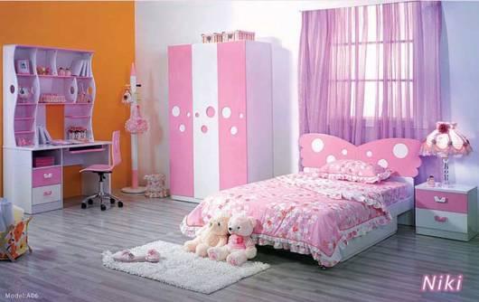 decoracao quarto de menina borboleta