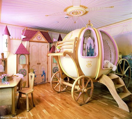 quarto tema princesas