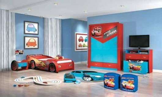 quarto infantil tema carros