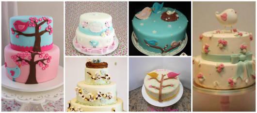 modelos de bolos de pasta americana
