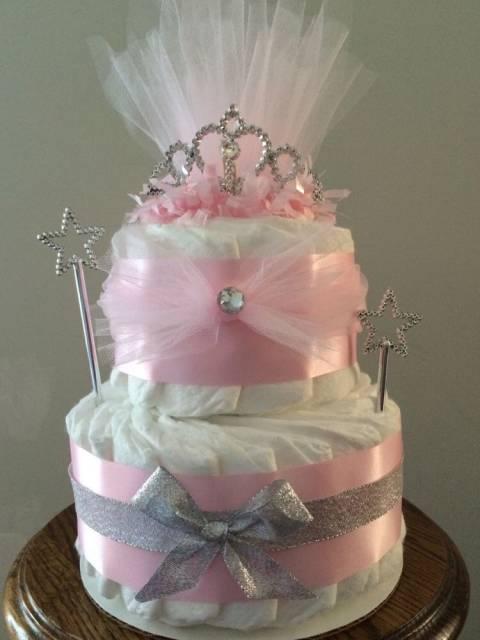 decoração bolo falso