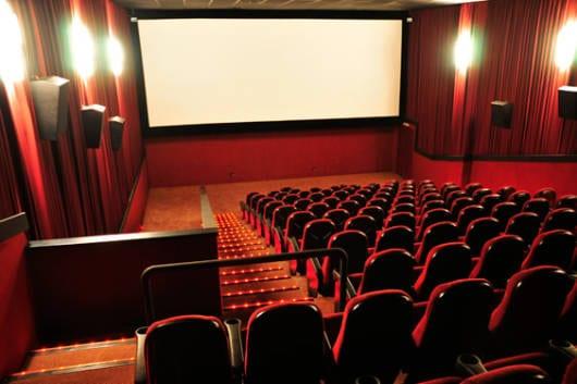 festa sala de cinema